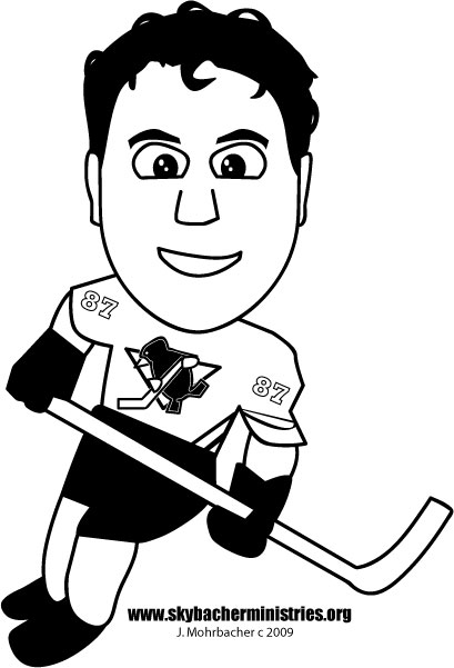 free coloring pages pittsburgh penguins - photo#9